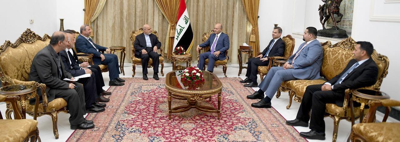 """صالح لمسجدي:العراق لن يسمح بشن حرب على """"الجارة إير ان"""""""