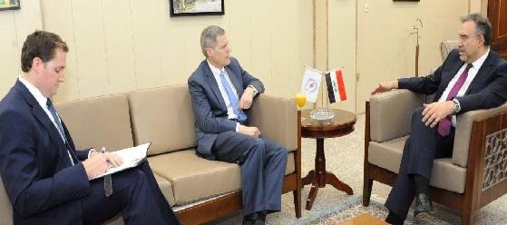 تولر :بلادي تؤيد جهود العراق بتحقيق استقلاله في مجال الطاقة