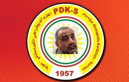 """حزب بارزاني:عبد المهدي """"ممثلنا العربي"""" في بغداد"""