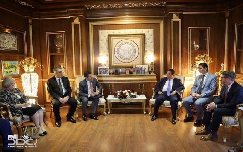 التوقيع على مذكرة تفاهم بين غرفتي التجارة الأمريكية والكردستانية