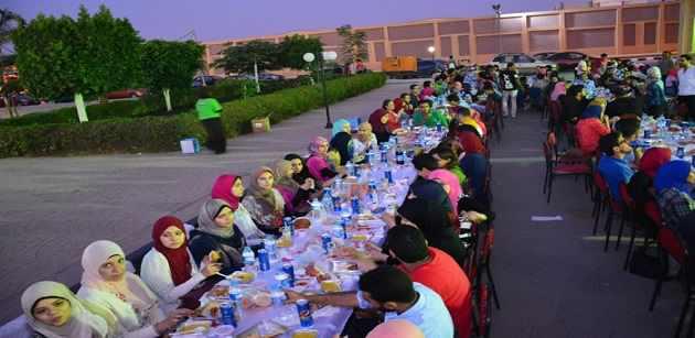 أطول مائدة إفطار رمضانية في العالم