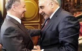 """جعفر:علاقة """"غريبة""""بين عبد المهدي والعائلة البارزانية!"""