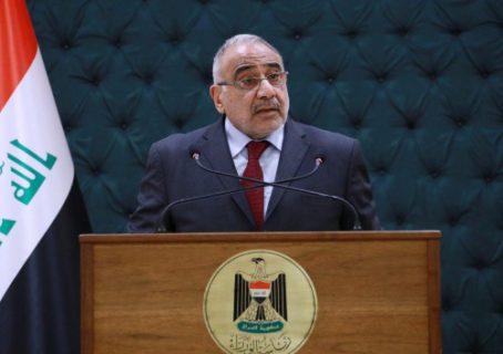 عبد المهدي يهنىء مسرور  ويبدي استعداده لحسم الملفات العالقة بين بغداد وأربيل