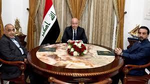 اجتماع ثلاثي لصالح وعبد المهدي والحلبوسي لبحث الوضع العراقي