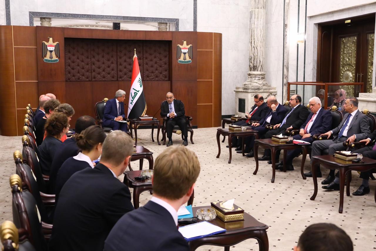 عبد المهدي يؤكد على حسم ملف الدواعش الأوروبيين المعتقلين في العراق
