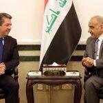 مصدر:مسرور اشترط على عبد المهدي تسليم كردستان 750 مليون دولار شهريا مقابل التزامها بالاتفاق النفطي!