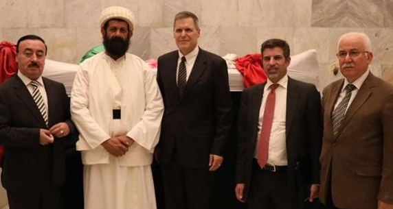 السفارة الأمريكية في بغداد تخصص500 ألف دولار لإعمار معبد أيزيدي