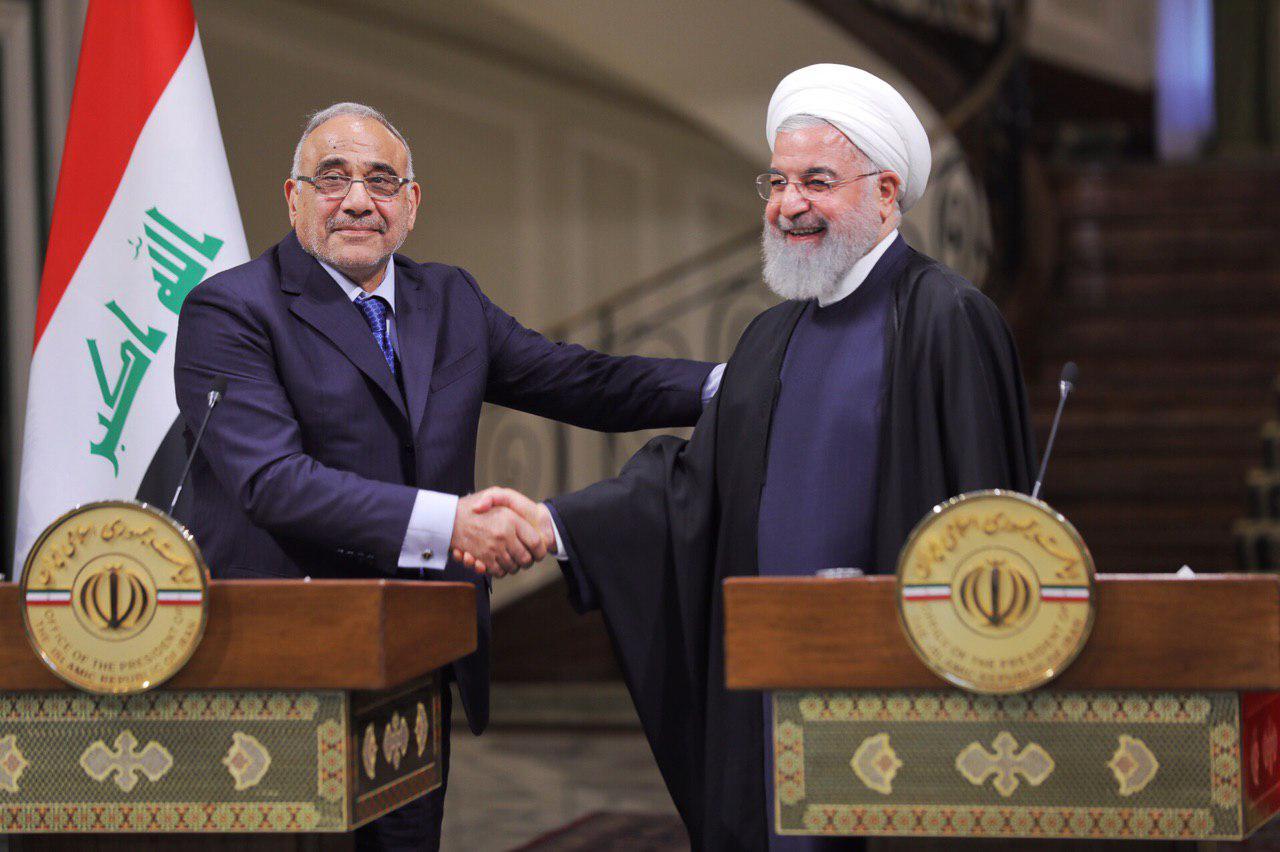 عبد المهدي لروحاني:العراق لن ينفذ العقوبات الأمريكية على إيران