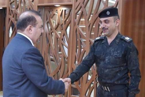 وزير الداخلية يرفض الاعتداء على أي ضابط مؤكدا على دعم  منتسبي الوزارة