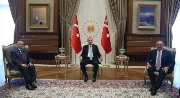 أردوغان يلتقي الوفد العراقي الأمني