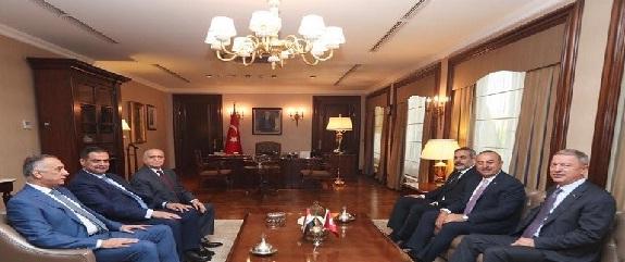 تعاون أمني بين العراق وتركيا