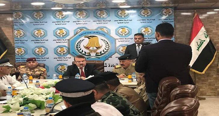 وزير الداخلية يعلن عن عودة 13 ألف منتسب من شرطة الموصل