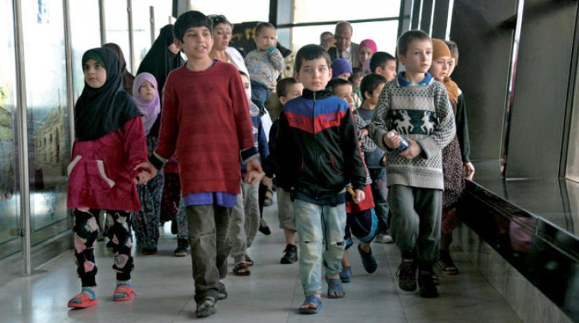 30 طفل من أبناء الدواعش الروس سيصلون موسكو من بغداد في شهر ايلول المقبل