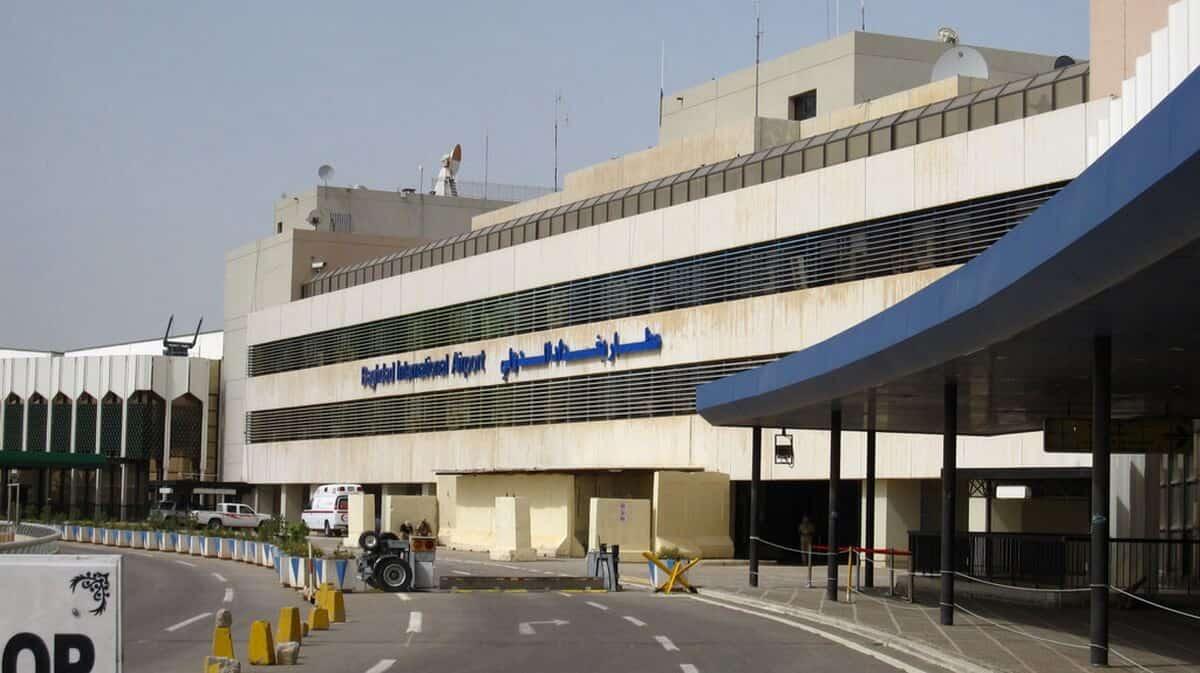 السماح لمرافقي المسافرين من الدخول لصالة مطار بغداد الدولي