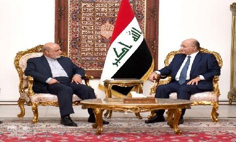 """صالح يلتقي مسجدي """"لتعزيز"""" العلاقات مع طهران"""