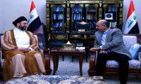 """صالح يؤكد على """"تكثيف الحوار""""بين القوى العراقية"""