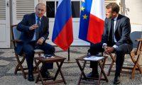 في مؤتمر صحفي..سجال بين بوتن وماكرون