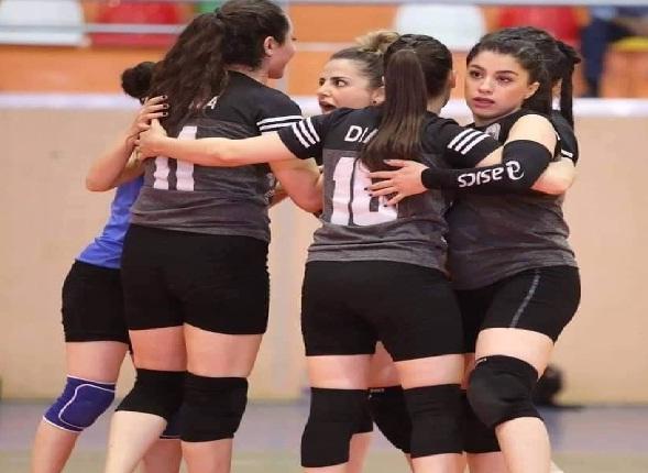 فريق قرقوش بطل دوري كرة الطائرة العراقي للسيدات
