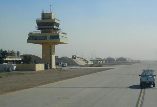 مصدر:إجلاء عددا من الخبراء الأمريكان من قاعدة بلد الجوية