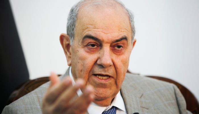 علاوي:تفاجئت باستهداف أرامكو البقيق من قبل إيران
