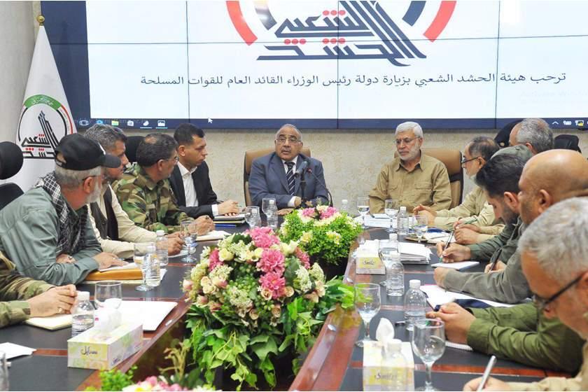 استقرار العراق بإقالة عبد المهدي وحل  ميليشيات الحشد الشعبي