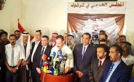 """المجلس العربي في كركوك:إنكار داخلية الإقليم بعدم وجود مختطفين عرب في سجونها""""إصرار على الجريمة"""""""