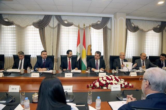 مسرور:مشاكل الإقليم مع بغداد لا تنحصر بالقضايا المالية والرواتب بل نحن أصحاب قضية