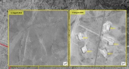 """مصادر:تدمير """"مجمع الإمام علي الميليشياوي"""" على الحدود السورية العراقية تدميرا كاملاً"""