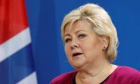 رئيسة وزراء النرويج تصل بغداد
