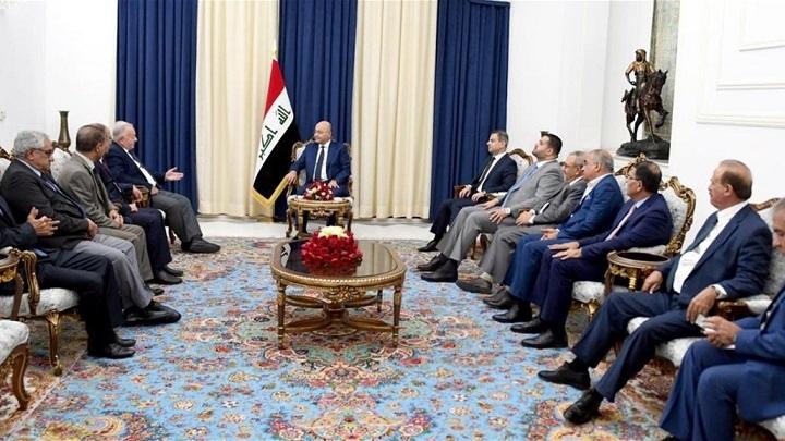 """صالح يدعو إلى """"محاسبة"""" قتلة الشعب العراقي"""