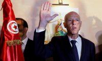 فوز قيس سعيد بانتخابات رئاسة تونس