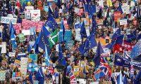 بريطانيا…الآلاف يتظاهرون في لندن ضد «بريكست»