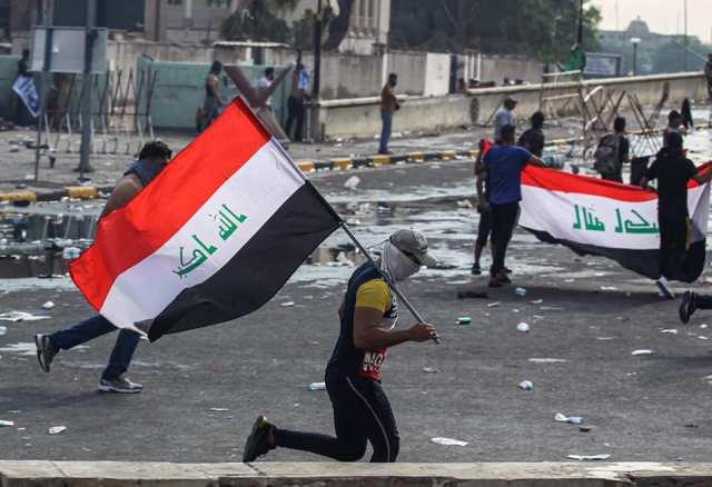 سقطتم ../ ولَم يسقط علم العراق