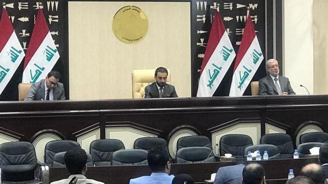 عدالة برلمان الحلبوسي..نائب:4 ملايين دينار الفرق بين راتب النائب  والموظف