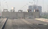 السيطرة على الحاجز الأول من جسر السنك من قبل المتظاهرين