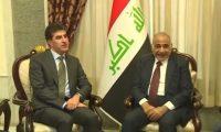 مصدر:زيارة نيجيرفان إلى بغداد لدعم عبد المهدي ولبحث التعديلات الدستورية