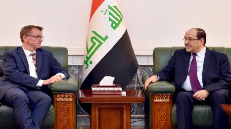 المالكي:نرفض التدخل الخارجي بالشأن العراقي ما عدا إيران