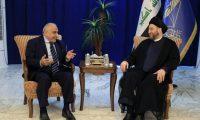 عبد المهدي يشكر الحكيم لإستجابته السريعة للأمر الإيراني بدعم بقاء حكومته