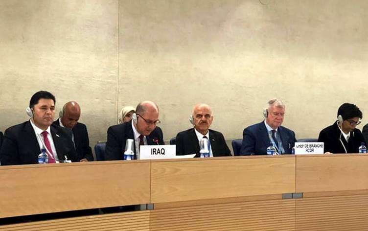 """وزير العدل """"يتعهد"""" أمام المجتمع الدولي بأحترام كرامة الإنسان العراقي والقرار ليس بيده!"""