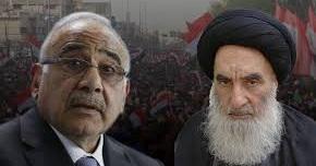 متظاهروا العراق:السيستاني صمام أمان لحكومات الفساد