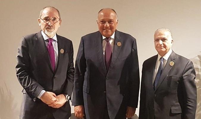 وزراء خارجية العراق ومصر والأردن يجتمعون لتعزيز التعاون بين بلدانهم