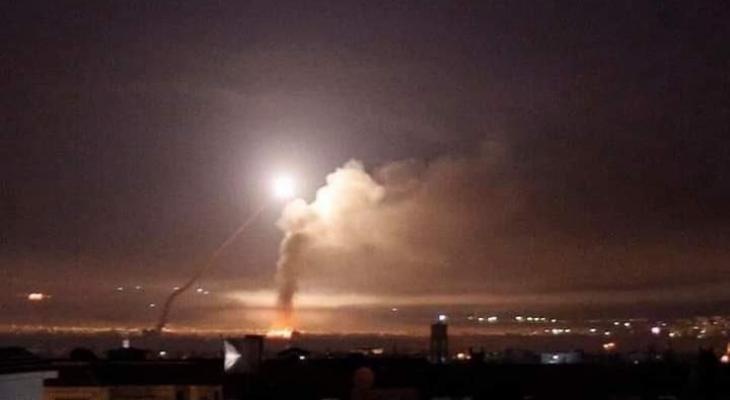 قصف صاروخي إسرائيلي كثيف على محيط دمشق