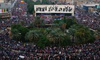 أيها المتظاهرون : اختاروا أما العراق وأما………..السيستاني