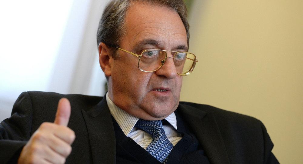 """بوغدانوف:الوضع في العراق """"مثير للقلق"""""""