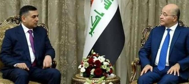 مصدر:برهم صالح اجتمع مع العيداني وخرج الأخير دون تكليف رسمي
