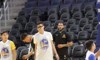 لاعب كرة السلة العراقي يخطف الأنظار في كندا