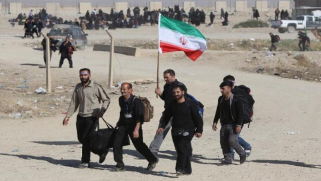إيقاف رحلات الزوار الإيرانيين للعراق