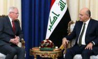 جيفري لصالح :استقرار العراق من خلال تنفيذ مطالب الشعب