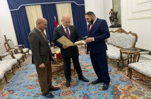 صالح يتسلم رسميا كتاب تنازل تحالف سائرون عن ترشيح رئيس الوزراء الجديد