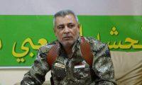 المحرض على قتل الثوار العراقيين علي الحسيني مسؤول علاقات الحشد محور الشمال ومظاهرات مقتدى الصدر